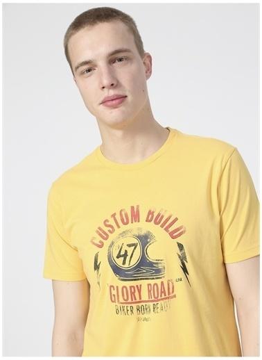 Wrangler Wrangler W211923200_Logo T-shirt  Sarı